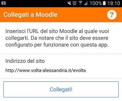 Moodle URL